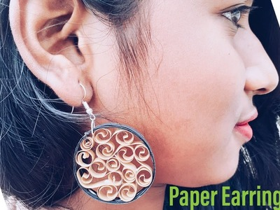 Quilling Paper Earrings | The Best Crafts