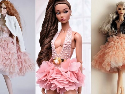 BARBIE HACKS AND CRAFTS❤️ Cutest &easy DIY Barbie Clothes part 3