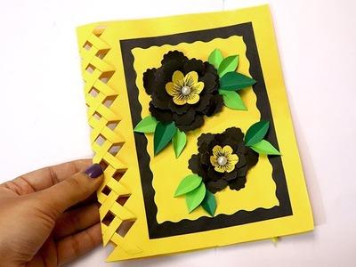 Beautiful Handmade Birthday card idea | DIY Greeting Cards for Birthday | Artsy Madhu 49