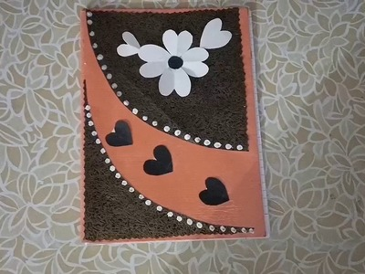 DIY 9 Notebook Cover design.Book cover decoration.Notebook decoration ideas for school.