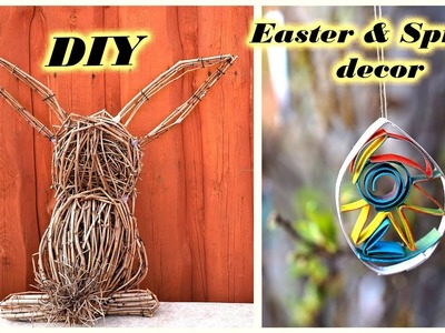 DIY EASTER & SPRING decorations | Easter bunny | 2019 decor