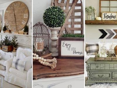 ❤DIY Farmhouse style Summer living room decor Ideas❤   Home decor & Interior design  Flamingo Mango