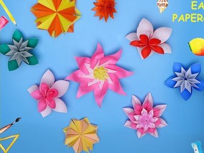 DIY Flower Papercraft   Easy Papercraft   Cool Papercraft ideas