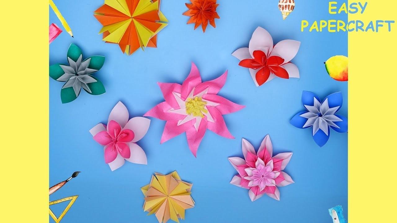 DIY Flower Papercraft | Easy Papercraft | Cool Papercraft ideas