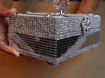 DIY GLAM JEWELRY BOX   MOTHER'S DAY 2019