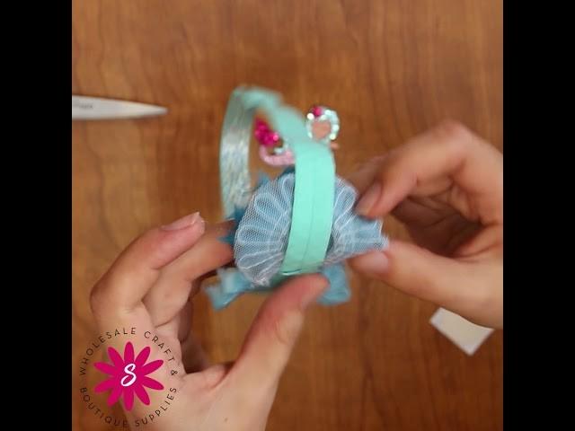 DIY Mermaid Headband