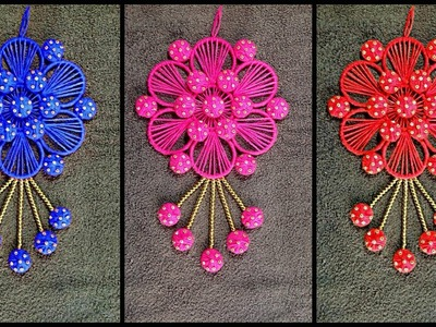 DIY.purani chudiyan ka use. Best Out Of Waste Woolen and Bangles Ideas
