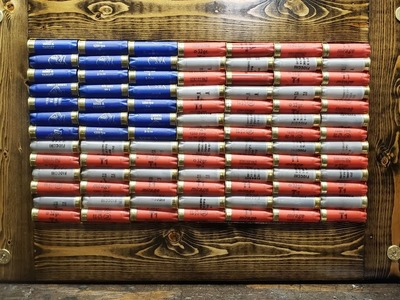 DIY shotgun shell American flag (how to)