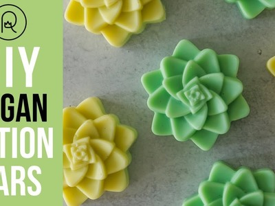 DIY Vegan Lotion Bars with Squalane Oil | Royalty Soaps