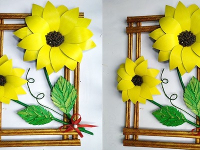 DIY WALL HANGING USING EMPTY BOXES || WALL DECOR IDEAS || DIY UNIQUE WALL HANGING IDEAS 2019