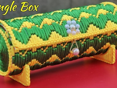 DIY Woolen Bangle Box Making at Home | Best Out Of Waste Woolen Craft Idea