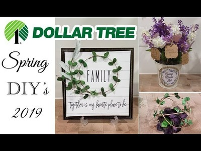 Dollar Tree Spring DIY's ???????? Quick and Easy