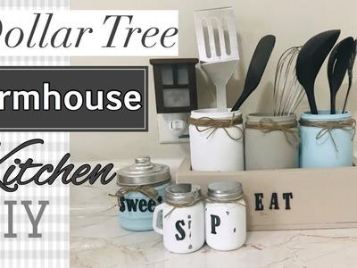Farmhouse Decor DIY||Dollar Tree DIY|Salt and Pepper Shakers|Mason jars DIY|Decorate with Me