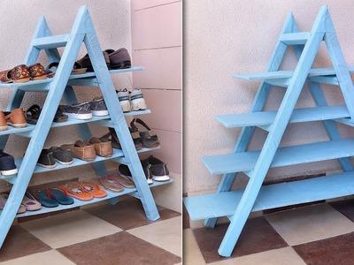Genius DIY !!! Shoe Rack || Best Out of Waste Organization Idea 2019 !!!