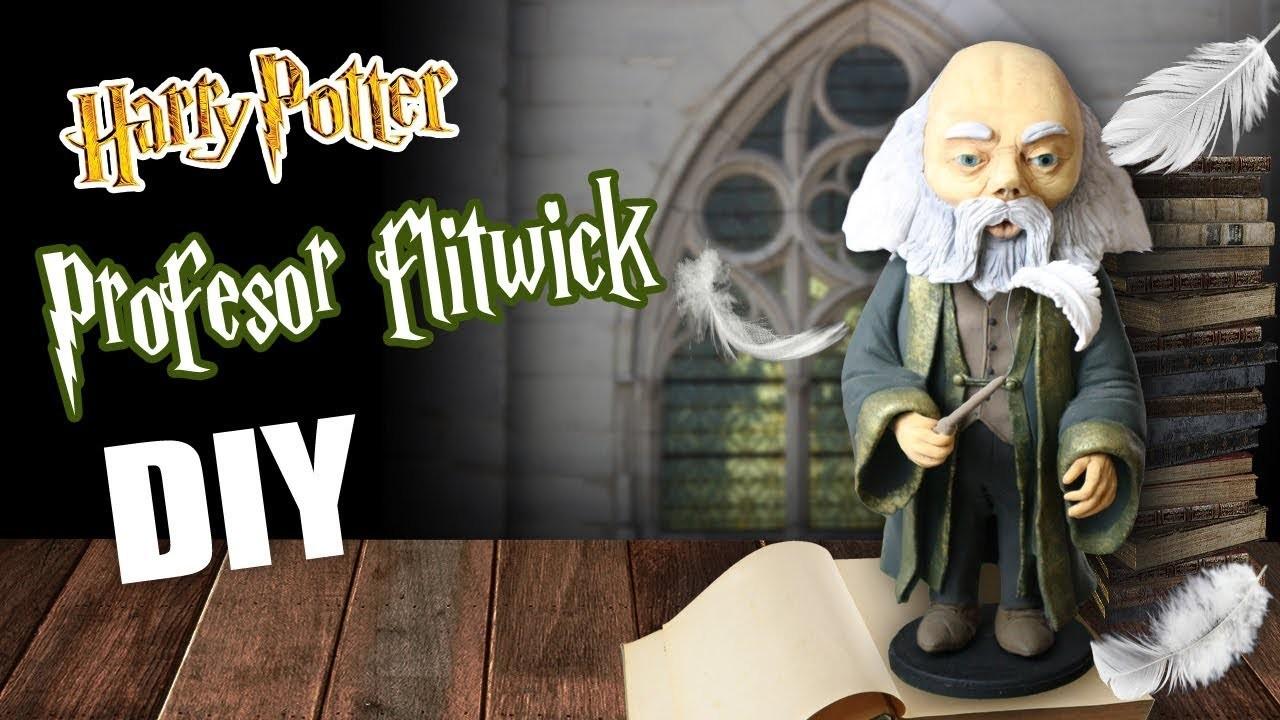 Harry potter DIY. profesor flitwick