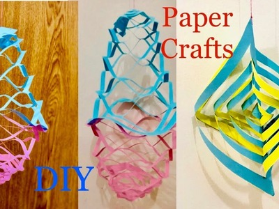 Easy Paper Crafts For Kids. Simple And Easy Birthday Party Paper Decoration