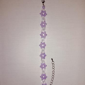 Handmade Cute Purple Bracelet