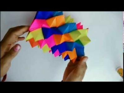 #OrigamiFlowerVase #Diy #paperCraft Paper flower vase