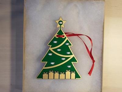 PCB Christmas Tree Ornament