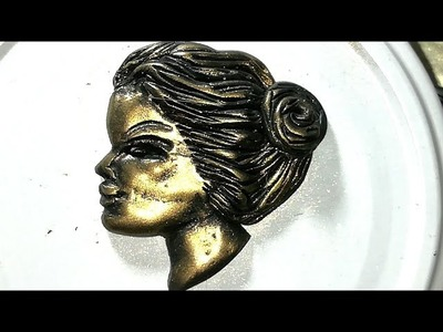 Polymer clay cameo sculpting! Easy tutorial