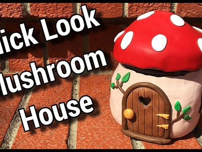 Quick Look - Mushroom House (Sculpted out of Polymer Clay)