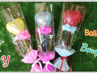 ของขวัญวันปัจฉิมEp.9 (ช่อลูกโป่งไม่กลัวแตก) DIY  Balloon Bouquet