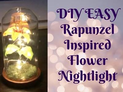 DIY RAPUNZEL INSPIRED LIGHT-UP FLOWER