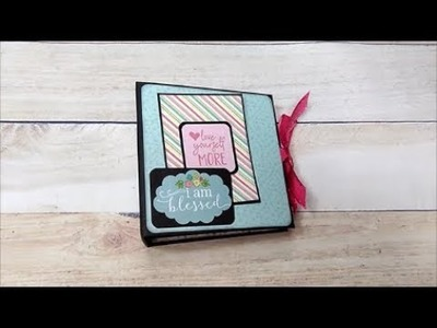Beginners Easy and Simple Mini Album with Flaps
