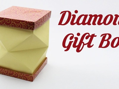 Diamond Cut Box, Easy Origami for Kids, Basic origami, Simple Origami for Beginners, Paper Origami