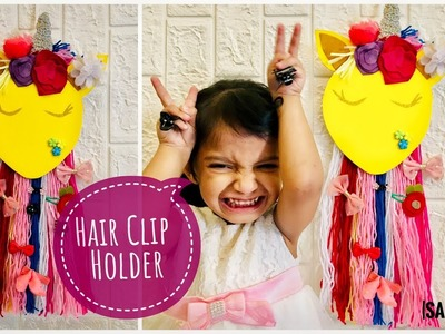 Hair Clip Holder.Organizer - Easy DIY at home