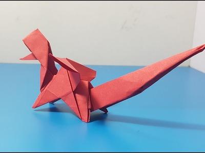Nghệ Thuật ORIGAMI - Hướng dẫn cách gấp con rồng #4 - Origami Dragon