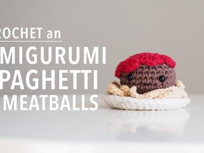 Amigurumi Spaghetti & Meatballs