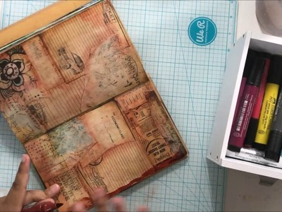 Art Journal Tutorial (Calico Collage DT)