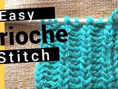 Brioche Stitch - Easy To Knit