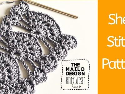 Crochet: How To Crochet Shell Stitch