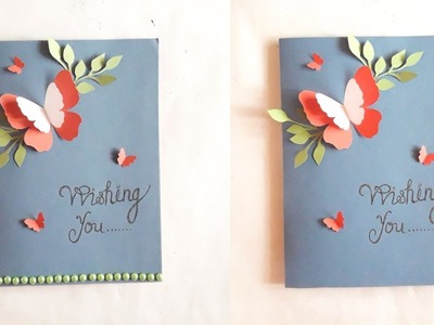 Easy card idea for Birthday || Mother's day || Friendship day etc