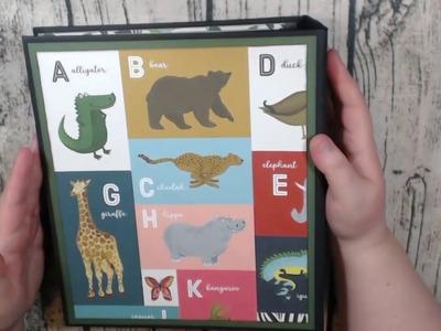 Echo Park Animal Safari Mini Album