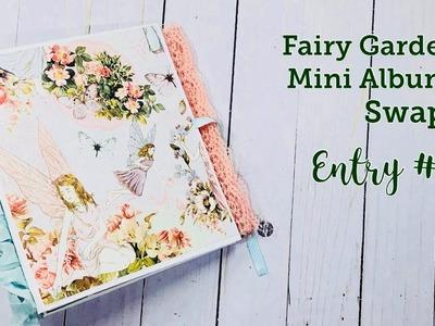 Fairy Garden Mini Album from Deidre