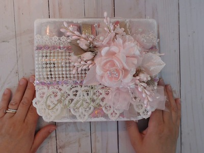Finished Embellishment box and more CHIT CHAT