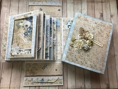 FOR SALE ALBUM IN A BOX BY SHELLIE GEIGLE JS HOBBIES AND CRAFTS