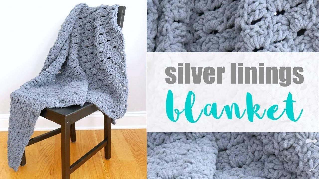 How To Crochet the Silver Linings C2C Blanket