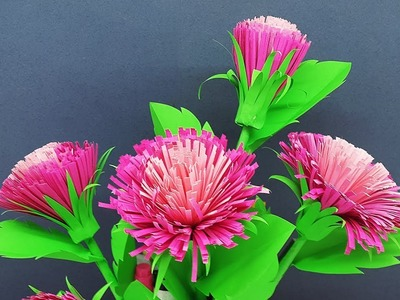 How to Make Beautiful DIY Paper Flowers Easy   Paper Craft