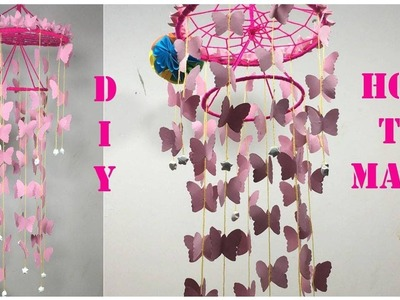 How to make wind chime out of paper - Handmade paper wind chime