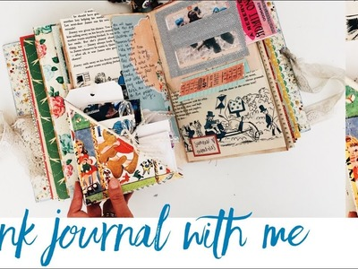 Junk Journal With Me | Journaling Process Video | Episode 24