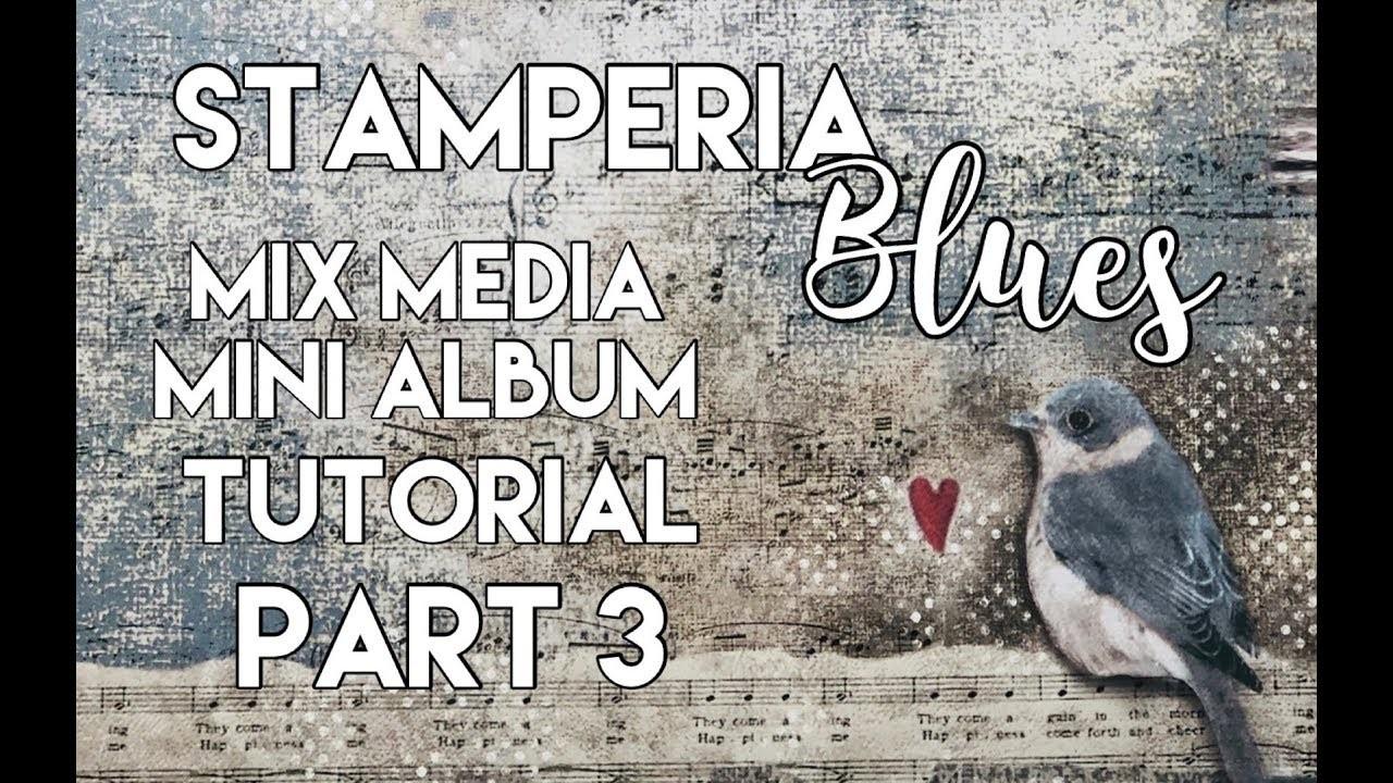 Mix Media Mini Album Tutorial Part 3