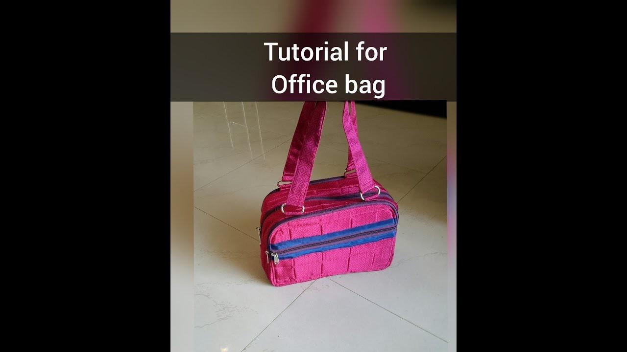 Office bag tutorial