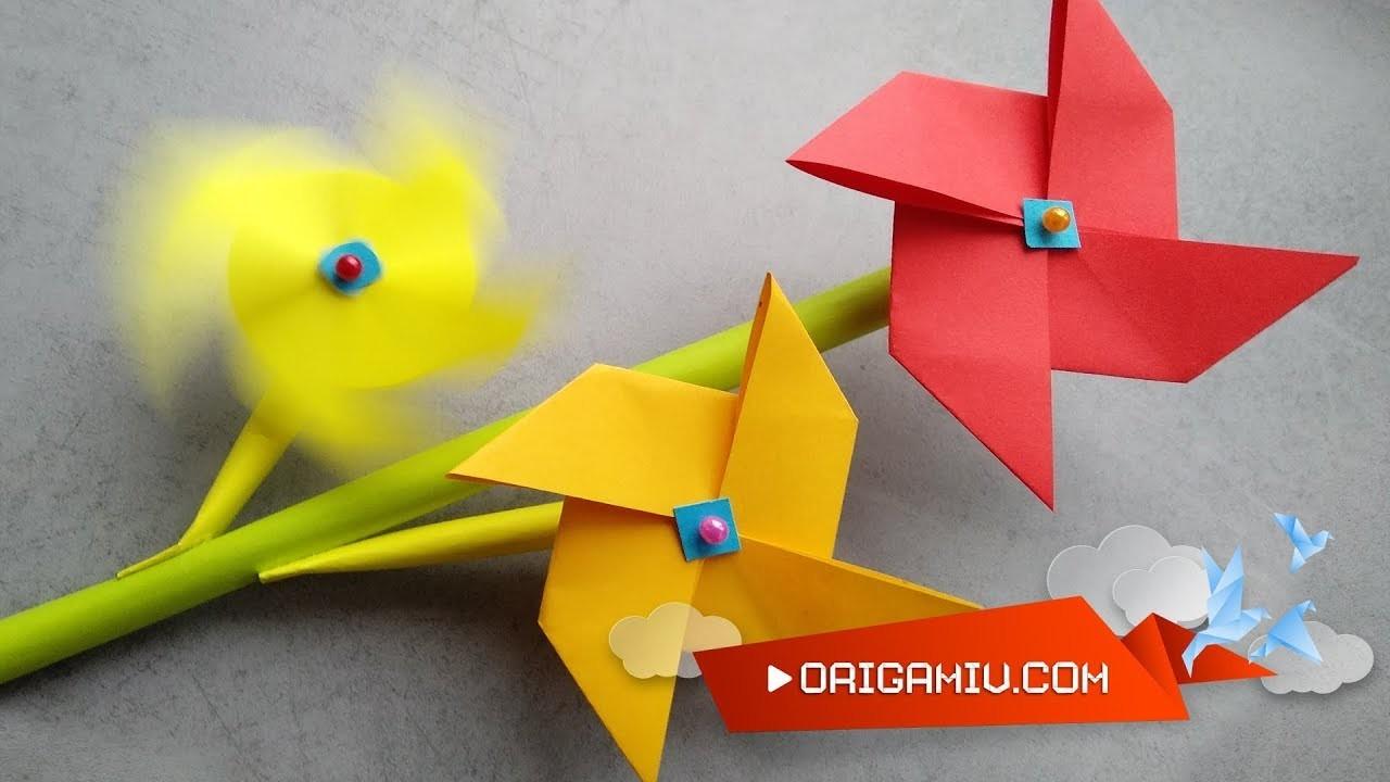 Pinwheel Parade - How to make a pinwheel poppy?
