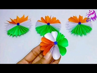 Republic day crafts | Independence day crafts | Tricolor crafts | School project crafts|Queen's home