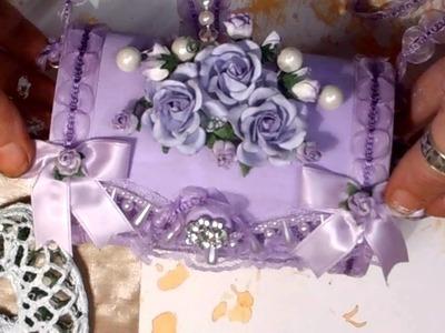 Shabby Chic Purple Bag - jennings644