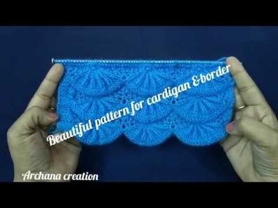 Stylish border.cardigan design#117